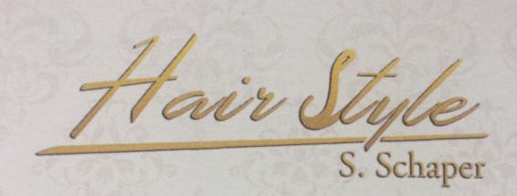 Hair Style S. Schaper