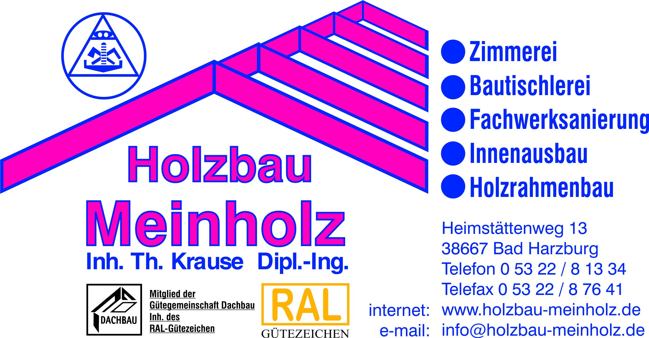 Holzbau Meinholz